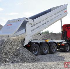 Delivery of sand of 35 tons