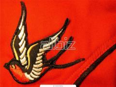 Разработка и вышивка логотипов