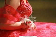 Вышитые эксклюзивные платья
