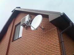 Услуги спутникового телевидения