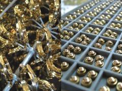 Вакуумное напыление Покрытие (под золото) нитрид