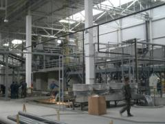 Installation of processing equipmen