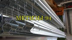 Galvanization of metal products, structures,