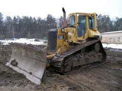 Rent of the bulldozer Caterpillar D5H