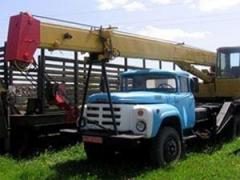 Услуги автокрана 10 тонн 14.5м