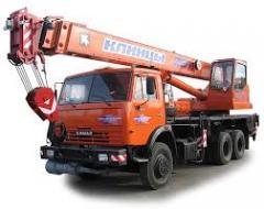 Услуги автокрана, грузоподъем 14 тонн.