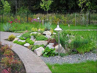 Landscape works, gardening of territories,