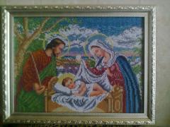 Вышивка картин Святое Семейство