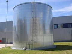 Проектирование объектов хранения нефти и нефтепродуктов