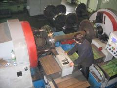 Repair of kolesotokarny machines