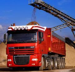 Автомобильные перевозки  сыпучих грузов