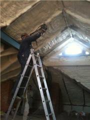 Works on dusting / filling of polyurethane foam