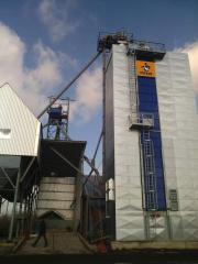 Construcția agregatelor de epurare a cerealelor