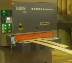 Polishing and calibration of a board
