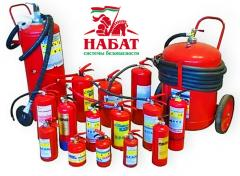 Diagnostics of fire extinguishers not expensively,