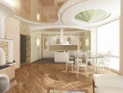 Complex apartment renovation, Kharkiv