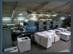 Sheet offset printing