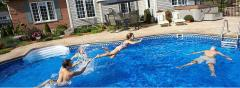 Construction of swimming pools. Construction of