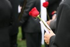 Organization of a funeral, Kherson region,