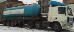 Services of the cement truck