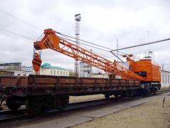 Ремонт железнодорожных кранов