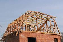 Installation of rafter system in Chernihiv
