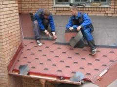 Installation of a roof Chernihiv