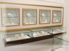 Оформление витрин ювелирных магазинов