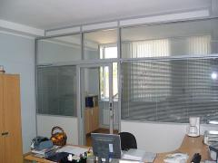 To order installation of glass partitions in Kiev
