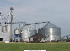 Хранение зерна на элеваторах