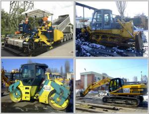 Rent of construction machines and equipment |
