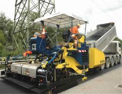 Rent of asphalt pavers | Antstroy Construction