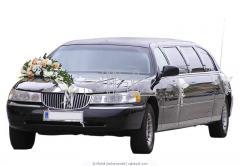 Прокат, аренда свадебных автомобилей