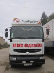Перевозки по Украине грузовиком Renault