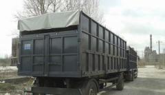 Modernization of bodies for trucks