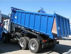Production of bodies, repair, building on KAMAZ,