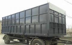 Production of bodies of trucks, trucks, KamAZ, the