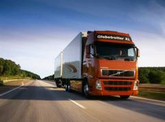 Transportation of goods by the motor transpor
