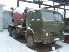 Concrete works price Cherkasy