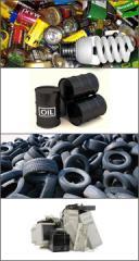 Утилизация отработанных нефтепродуктов, Утилизация отходов