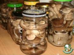 Консервированные грибы