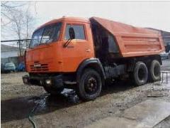 Перевозка самосвалом КАМАЗ 55111 по Киеву и