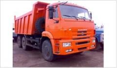 Перевозка самосвалом  КАМАЗ 6520  25 т, Аренда