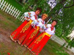 Национальные костюмы. Украинская одежда.