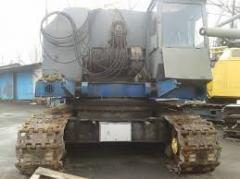 Кран гусеничный МКГ-25 БР