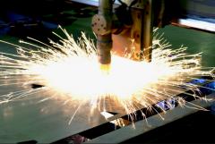 Резка газовая листового металла