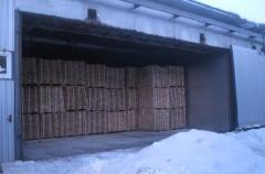 Сушка древесины всех пород (ясень, дуб, сосна, ольха)