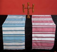 Пошив штор в украинском стиле с вышивкой