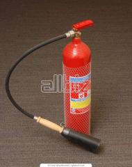 Проектирование и монтаж огнетушителей