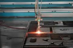 We carry out plasma cutting threw
